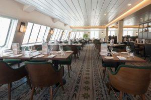 Restaurant aan boord