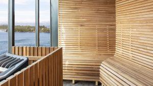 Sauna aan boord
