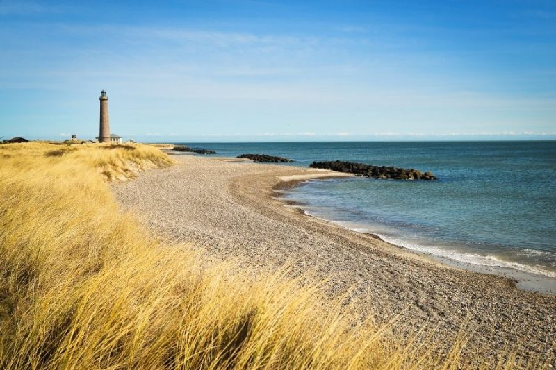Strand in Denemarken