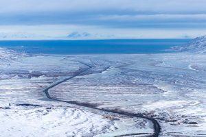 Besneeuws landschap in Spitsbergen reizen met Nordic