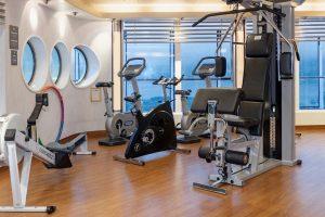 Fit blijven in de gym