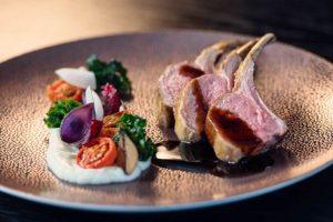 Het restaurant serveert kwalitatieve gerechten met verse producten