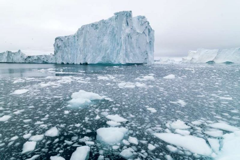 Ijsberg in Groenland reizen met Nordic