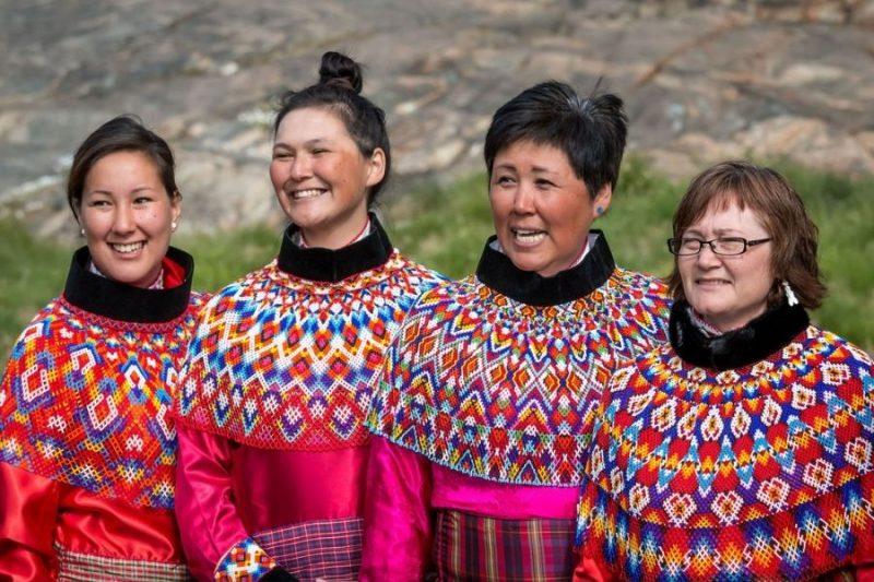 De oorspronkelijke bewoners van Groenland