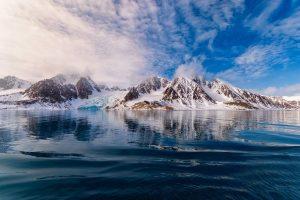 Landschap in Spitsbergen Nordic reis