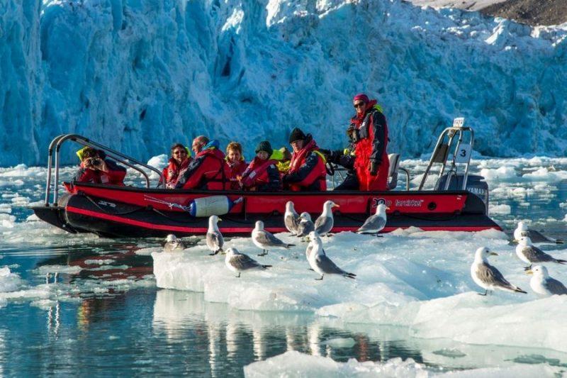 Landing op Antarctica