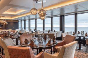 de moderne lounge met uitzicht