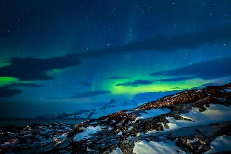 Noorderlicht op Groenland met Nordic