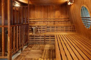 Tot rust komen in de sauna