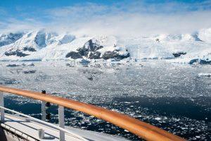 Paradise Bay in Antarctica met Nordic