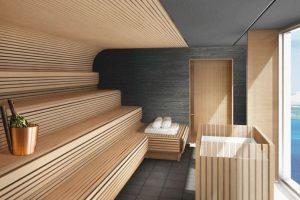 Ontspannen in de sauna
