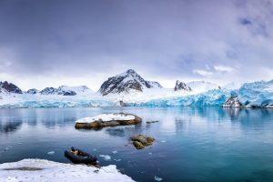 Spitsbergen landschap reizen met Nordic