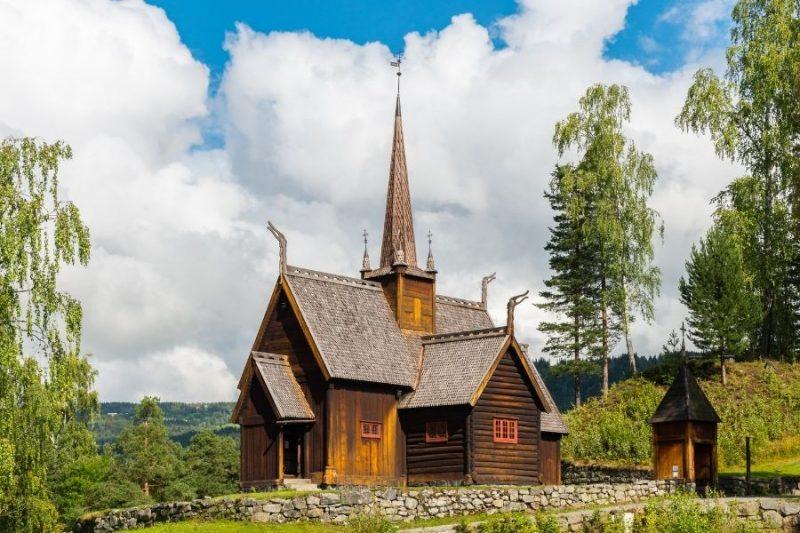 Staafkerk in Noorwegen