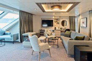 Suite met Scandinavisch interieur