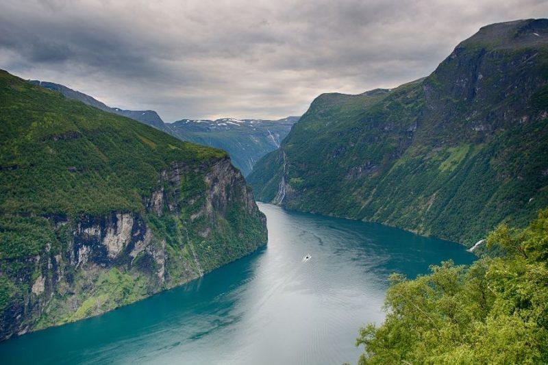 De Geirangerfjord.