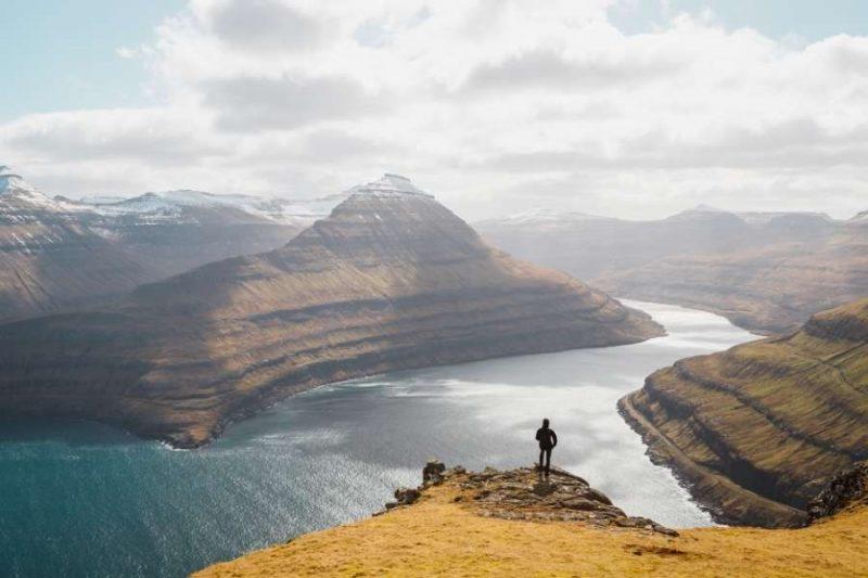 Landschap Faeroer eilanden - reizen met Nordic