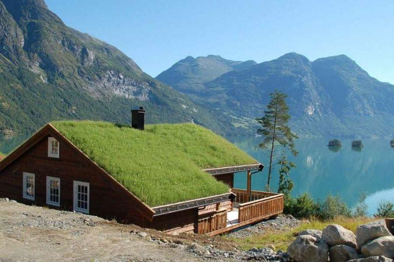 Vakantiehuisje aan de Noorse fjorden