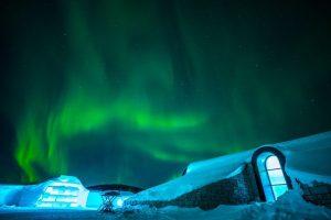 Noorderlicht aan het ICEhotel - ©Northworks Mikael Thörnqvist