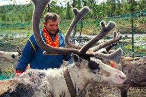 Sami in Lapland zomer - met Nordic
