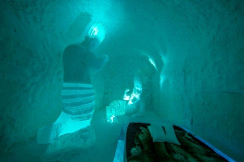 Een kamer in het ICEhotel - ©Northworks Mikael Thörnqvist