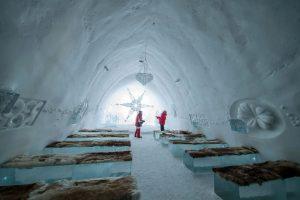 de kapel van het ICEhotel - ©Northworks Mikael Thörnqvist