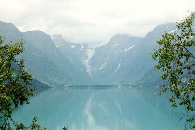 Gletsjer Jostedalsbreen Noorwegen - reizen met Nordic