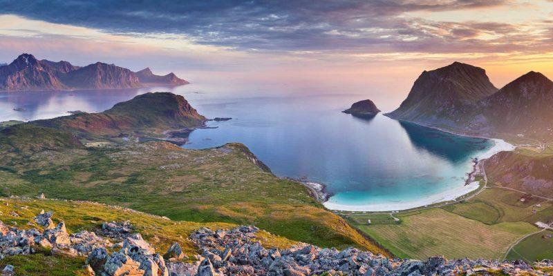 Noorwegen uitzicht - reizen met Nordic