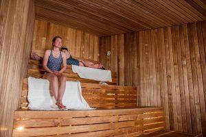 Wellnessfaciliteiten bij het Arctic Bath