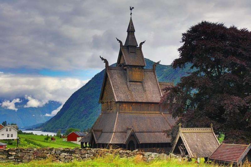 Staafkerk in Noorwegen - reizen met Nordic (2)
