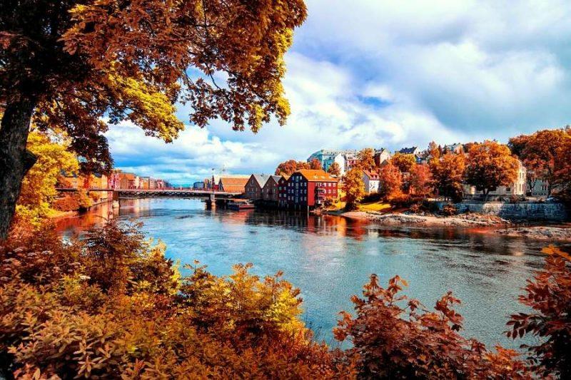 Stad aan water Noorwegen - reizen met Nordic