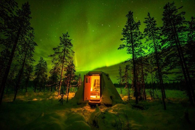 Overnacht in een Aurora Hideaway - ©Northworks Mikael Thörnqvist