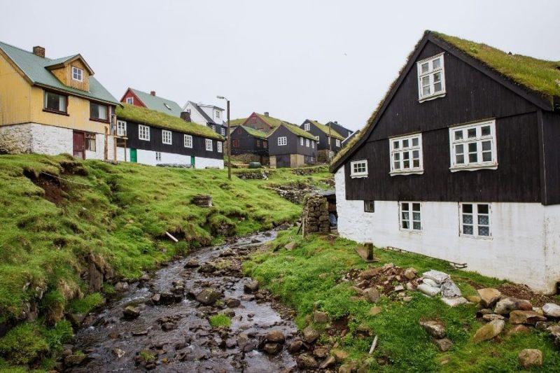 Faeröer eilanden architectuur