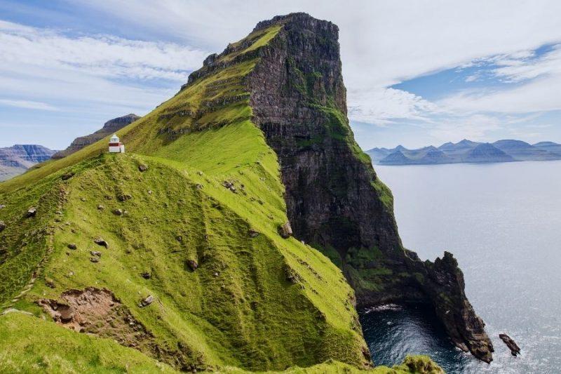 Faeröer eilanden uitzicht