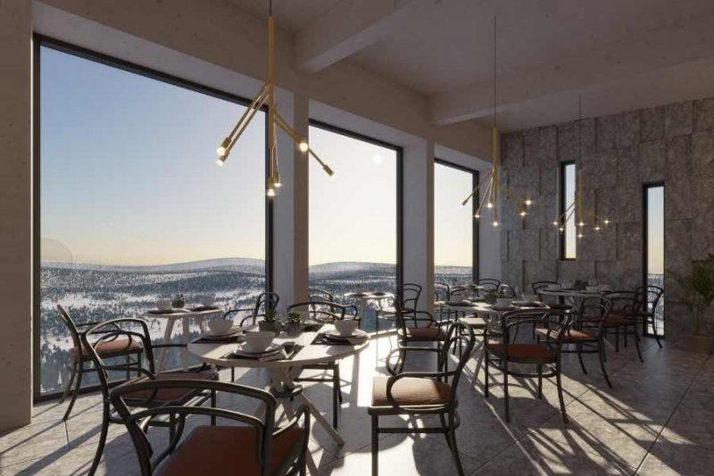 Gastronomische verwennerij in het restaurant van de Lapland View Lodge - ©Explore the North