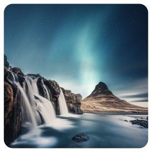 Watervallen IJsland - Noorderlicht (2)
