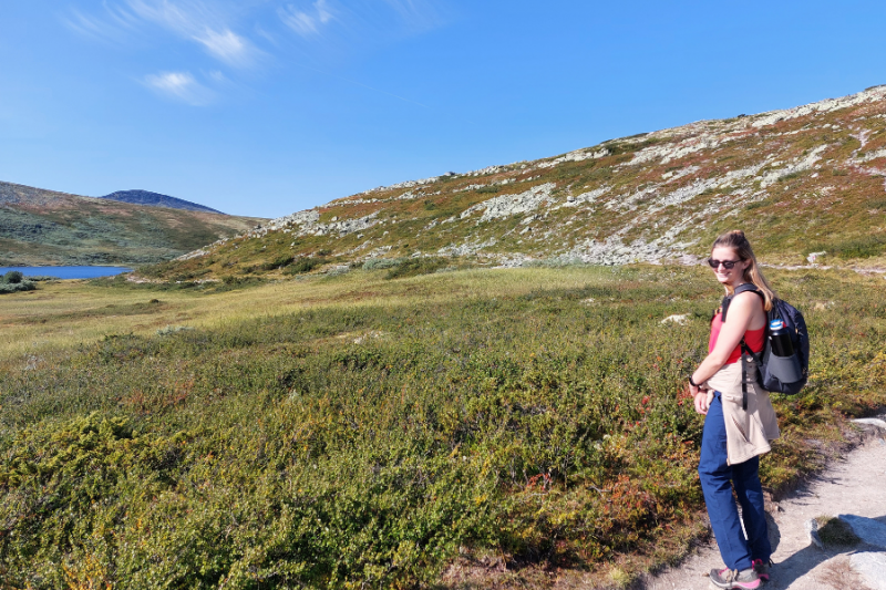 Wandeling in Rondane Nationaal Park