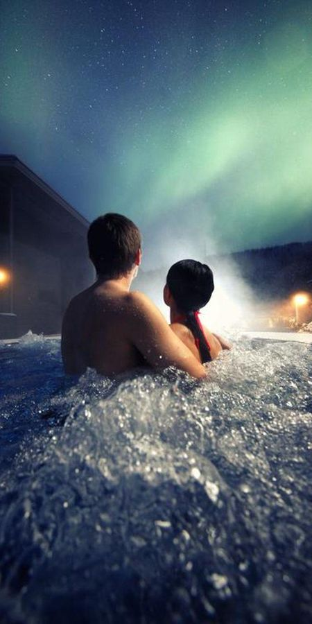 Spa hotel - op huwelijksreis met Nordic