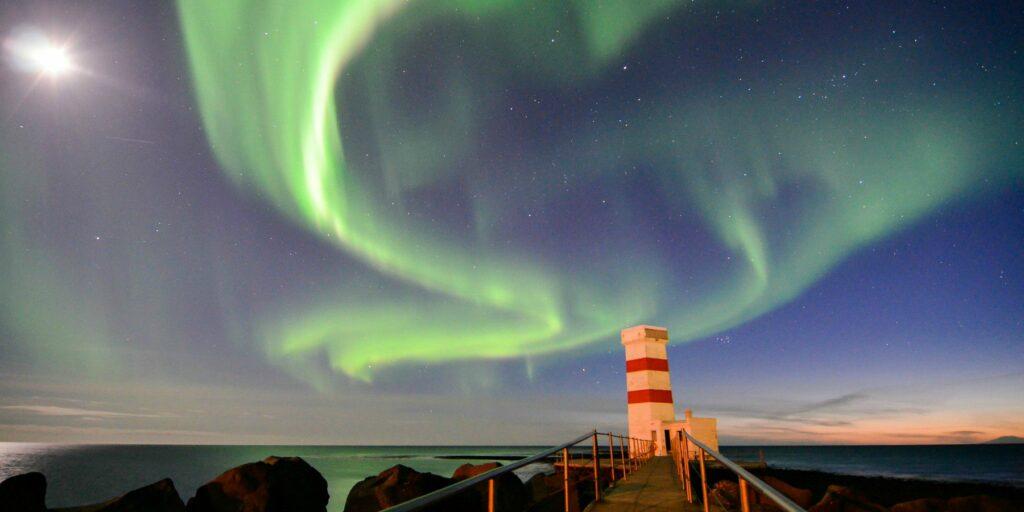 Noorderlicht in Ijsland - romantisch Scandinavië- op huwelijksreis met Nordic