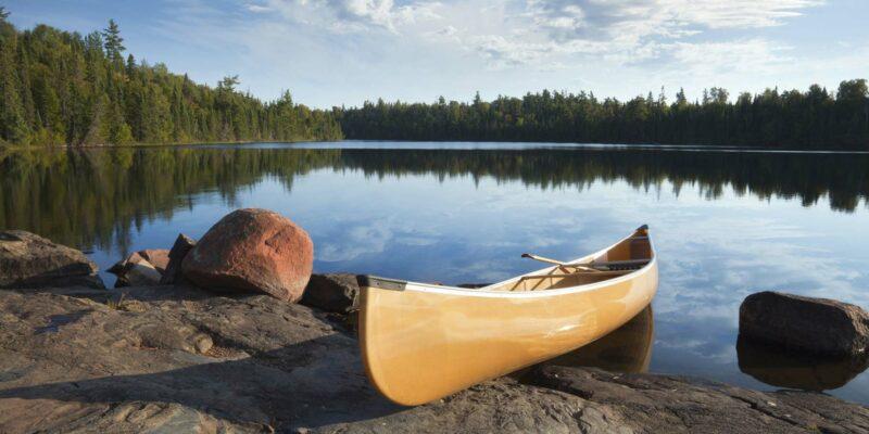 Kanoën aan het Dalarnameer in Zweden - naaar Zweden met Nordic