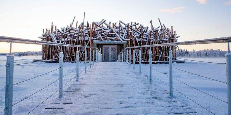 Het luxueuze Arctic Bath